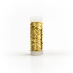 Smaltovaný drôt 0,3 mm - cievka zlatá - MetalProdukt.sk
