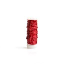 Smaltovaný drôt 0,3 mm - cievka červená - MetalProdukt.sk