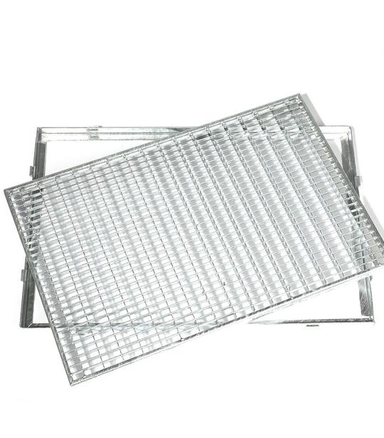 Rám+rošt - žiar.zinok 400x600 - MetalProdukt.sk